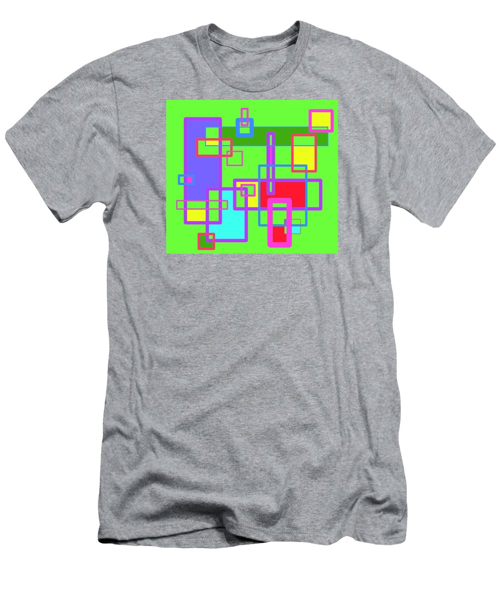 Learning Men's T-Shirt (Athletic Fit) featuring the digital art Learning Complex by Jeff Gater