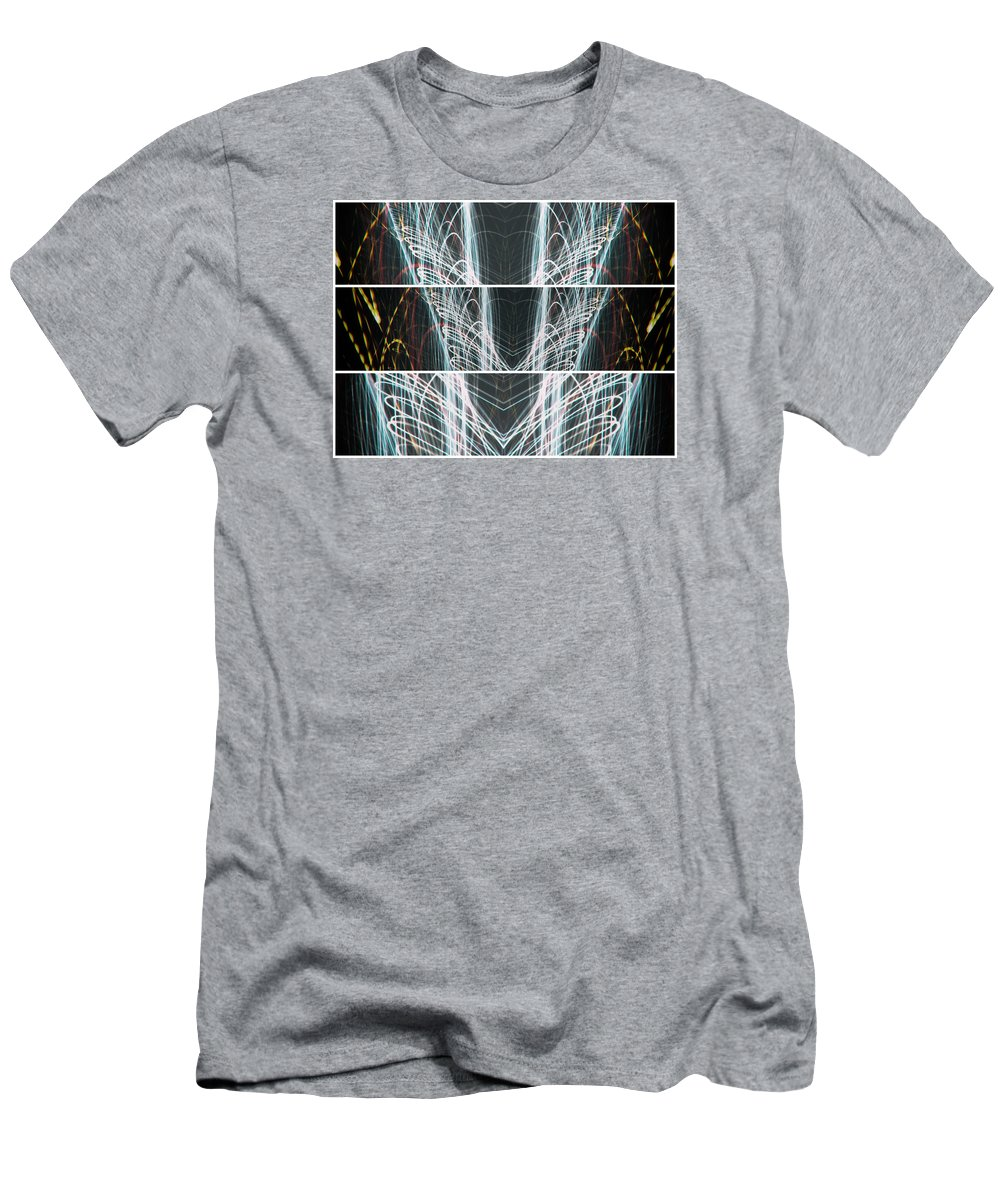 Form Men's T-Shirt (Athletic Fit) featuring the photograph End Of Light by John Williams