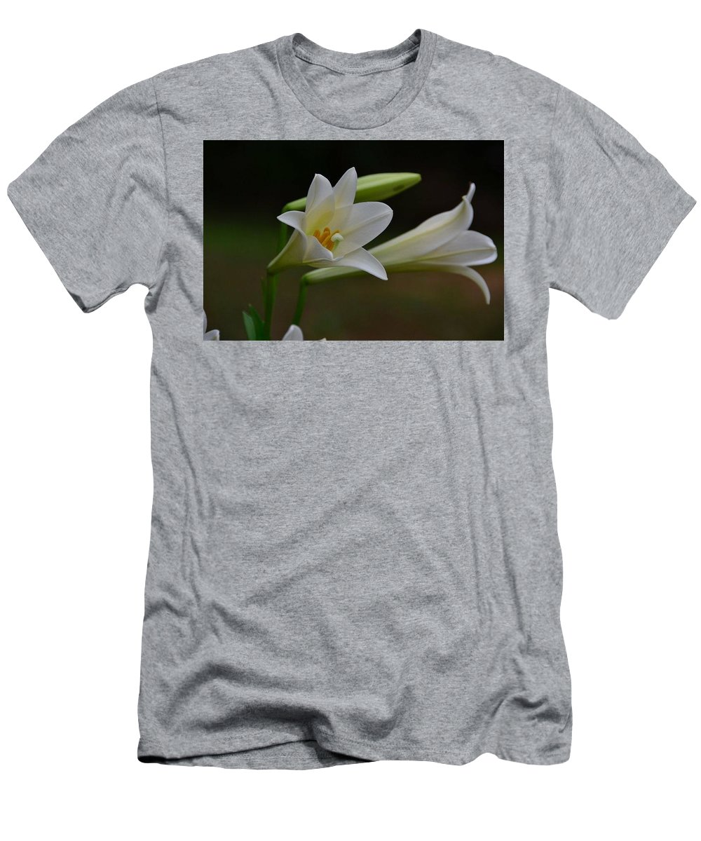 Men's T-Shirt (Athletic Fit) featuring the photograph Lily by Pam Smith