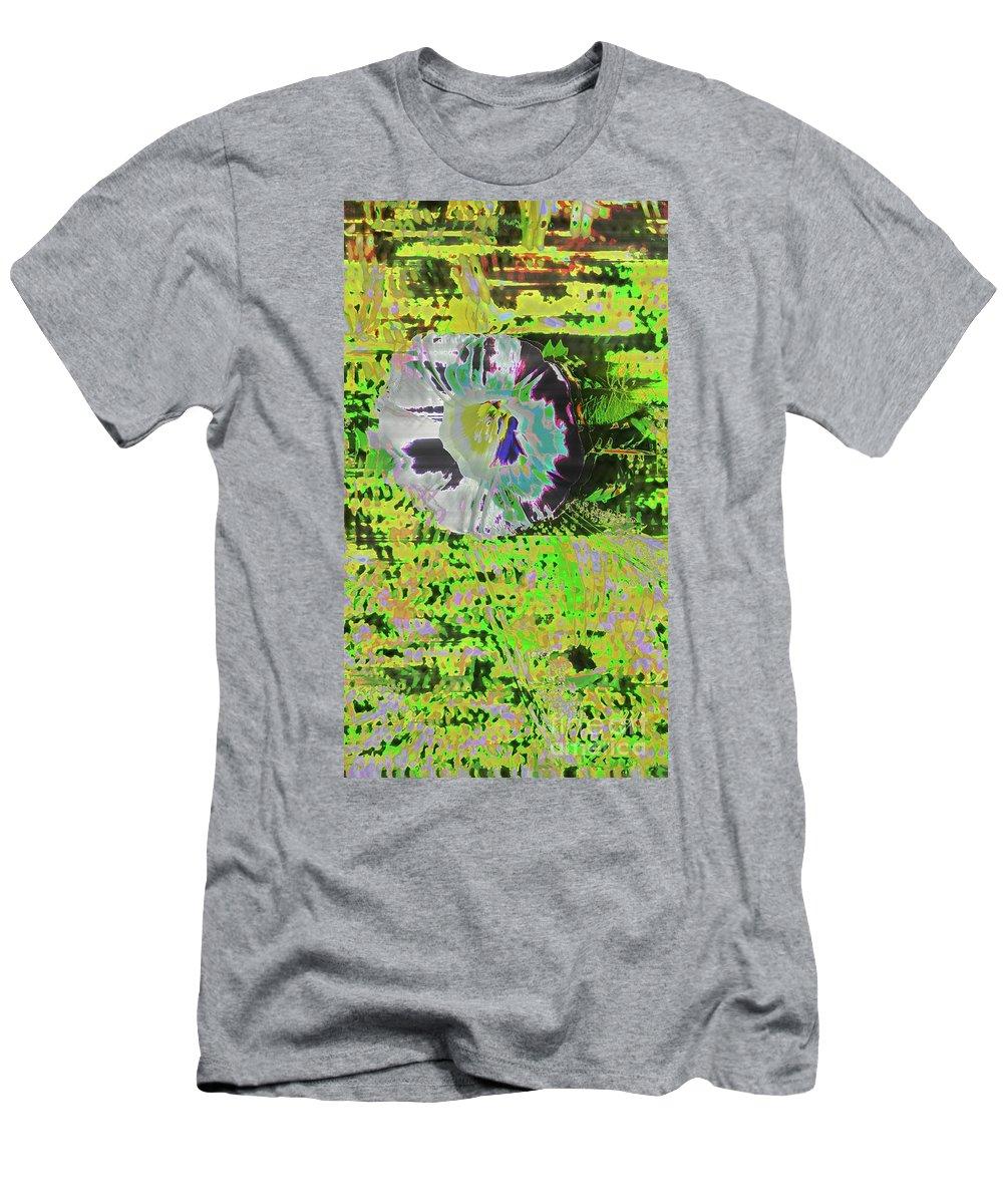 Flowers Men's T-Shirt (Athletic Fit) featuring the digital art Liseron En Aout by Dominique Favre