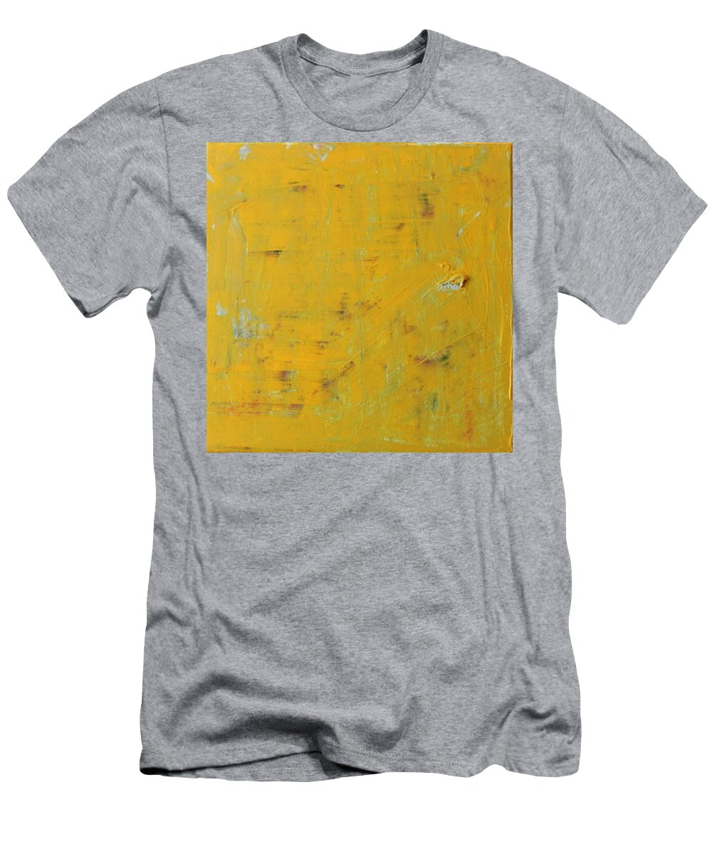 Yellow T-Shirt featuring the painting Little Dab Will Do Ya by Pam Roth O'Mara