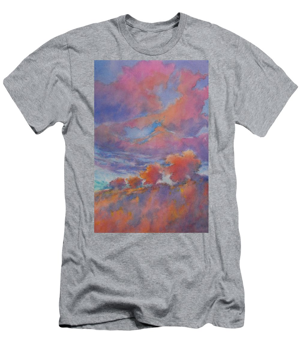 Watercolor T-Shirt featuring the painting Los Amigos by Virgil Carter