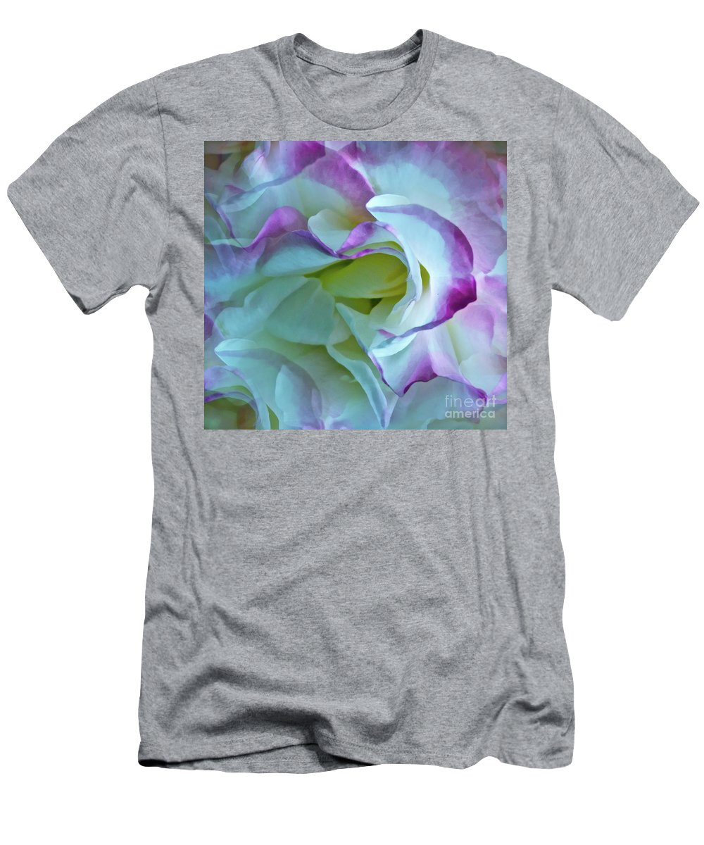 Rose Men's T-Shirt (Athletic Fit) featuring the photograph Lovely Rita by Gwyn Newcombe