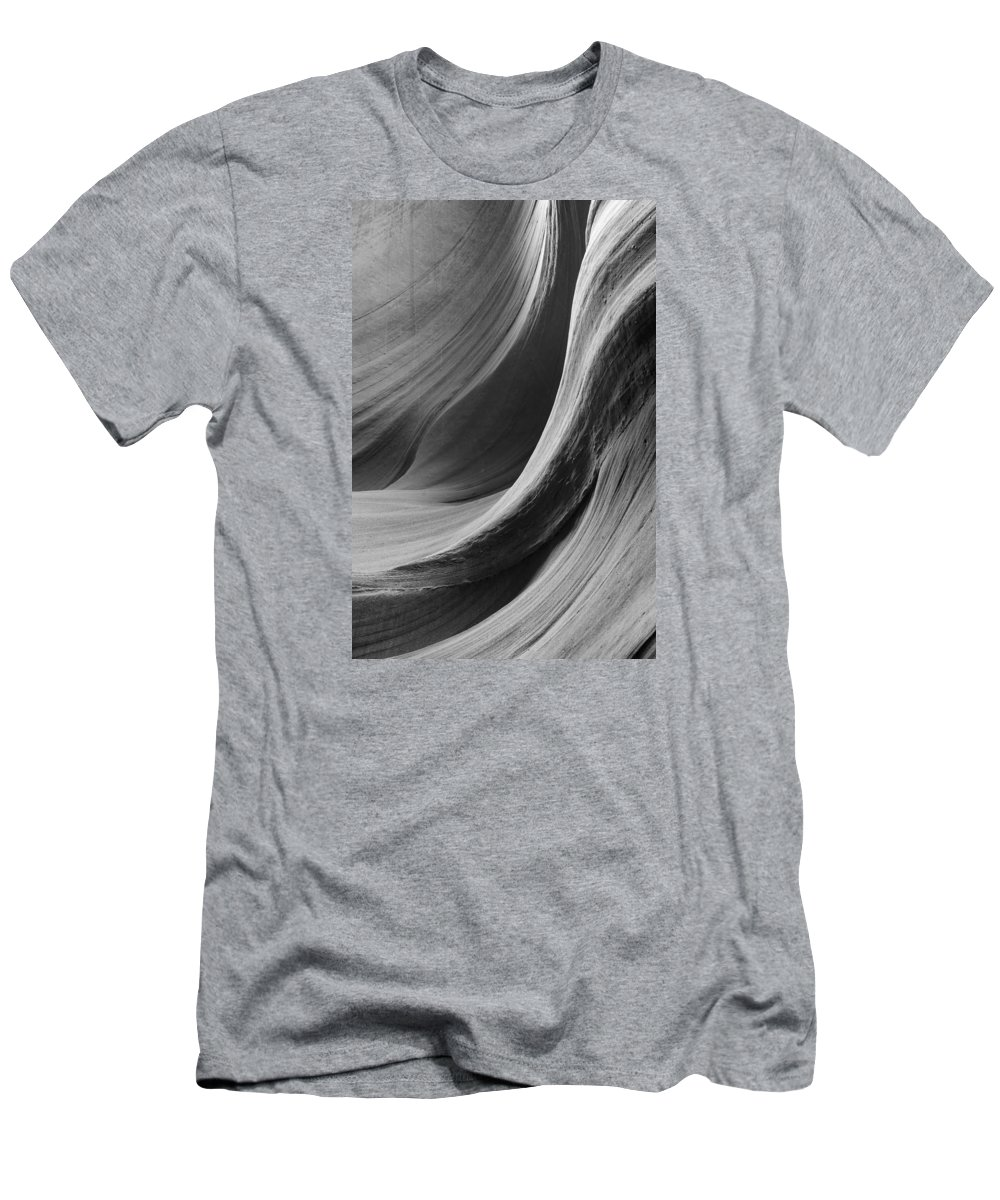 Slot Men's T-Shirt (Athletic Fit) featuring the photograph Lower Antelope Canyon 2 7920 by Bob Neiman