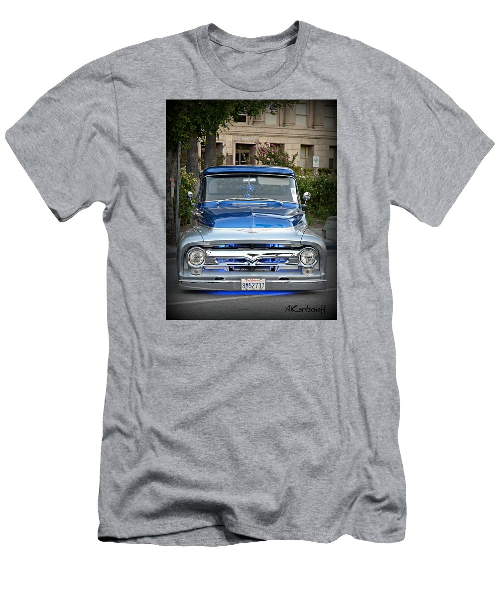 Men's T-Shirt (Athletic Fit) featuring the photograph Lower Ford Truck by Anatole Kortscheff