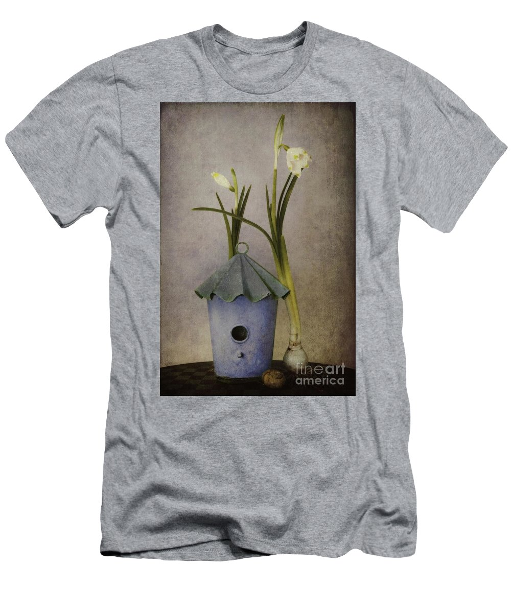 Still Life T-Shirt featuring the photograph March by Priska Wettstein