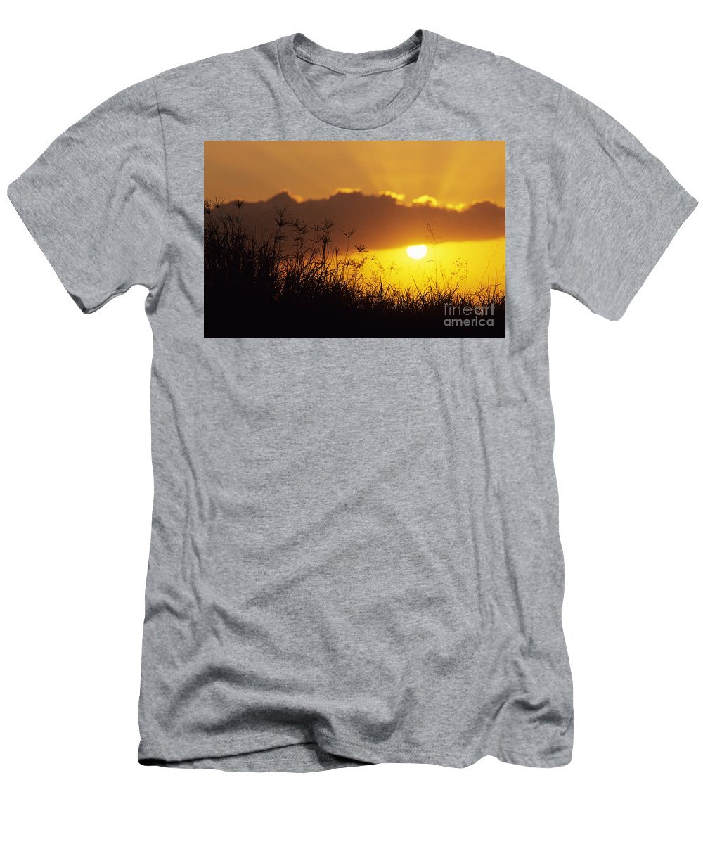 Beautiful Men's T-Shirt (Athletic Fit) featuring the photograph Maui Sunset by Mary Van de Ven - Printscapes