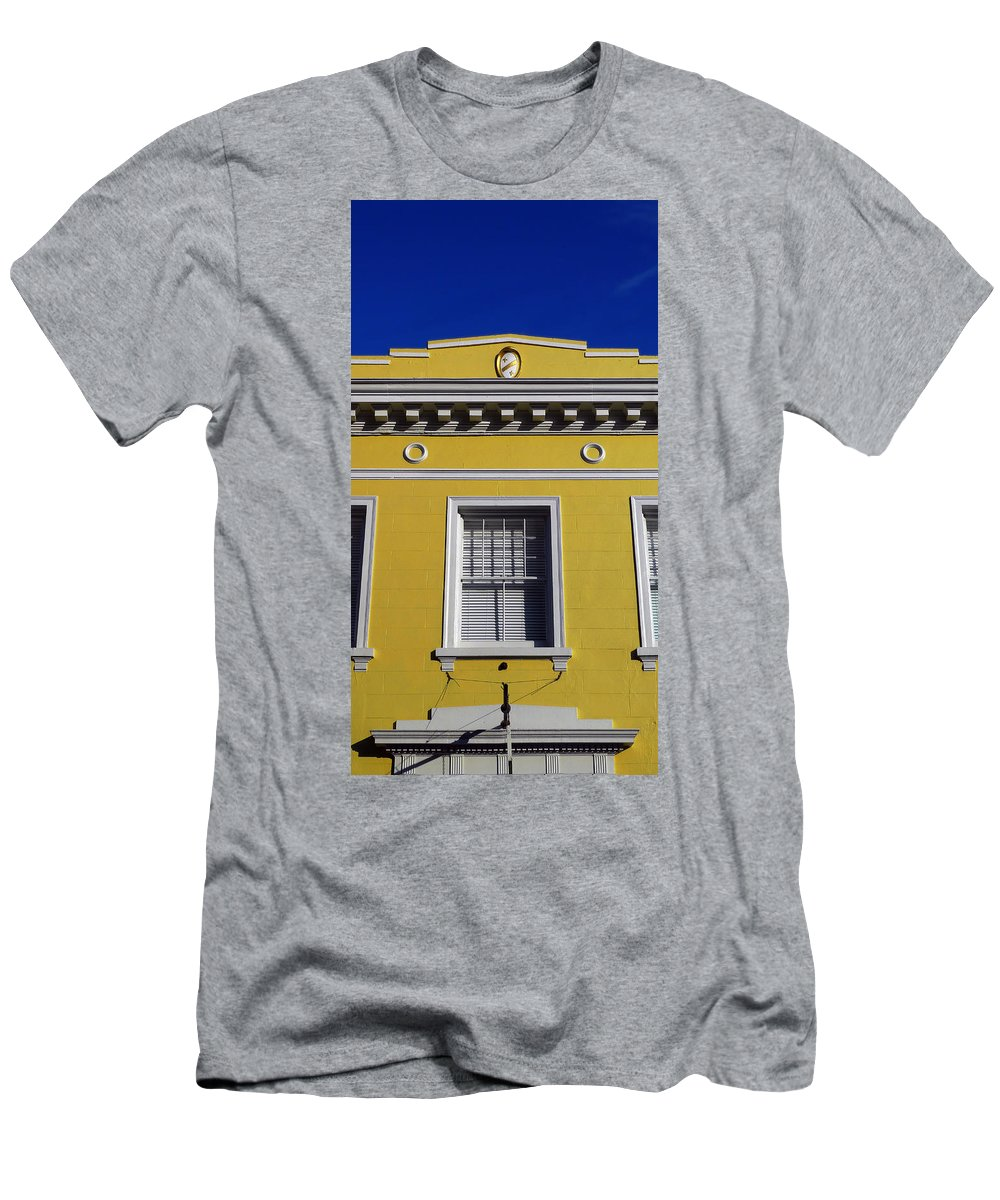 Mellow Yellow Men's T-Shirt (Athletic Fit) featuring the photograph Mellow Yellow by Skip Hunt