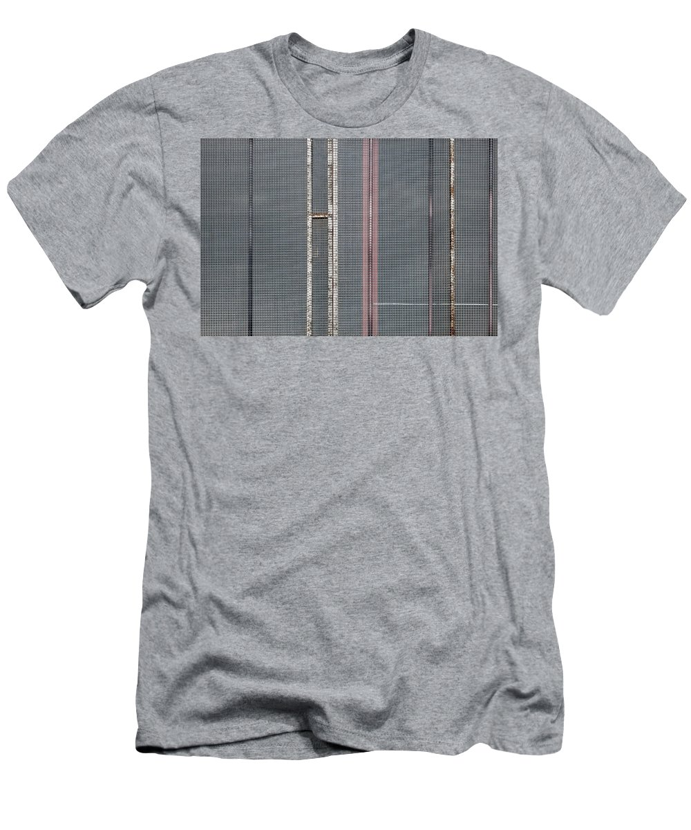 Abstract Men's T-Shirt (Athletic Fit) featuring the photograph Mesh 02 by Richard Nixon