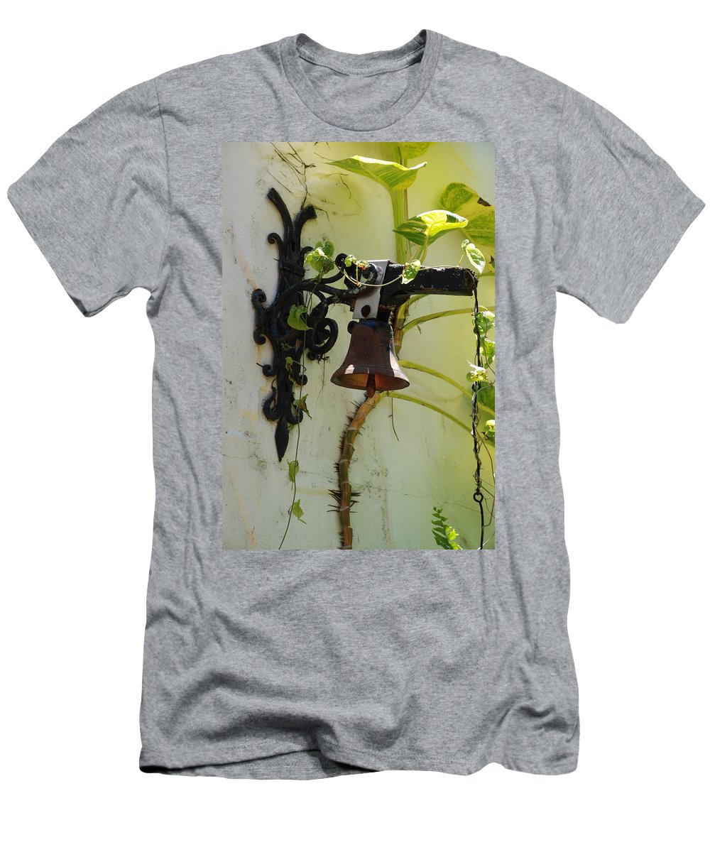 Architecture Men's T-Shirt (Athletic Fit) featuring the photograph Miami Monastery Bell by Rob Hans