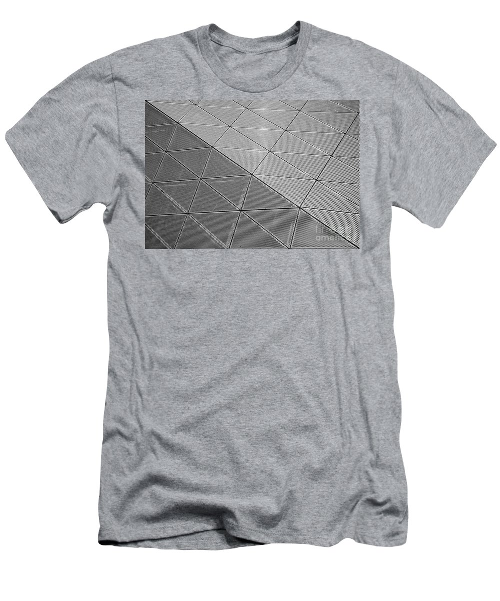 Architecture Men's T-Shirt (Athletic Fit) featuring the photograph Modern Detail Background by Antony McAulay