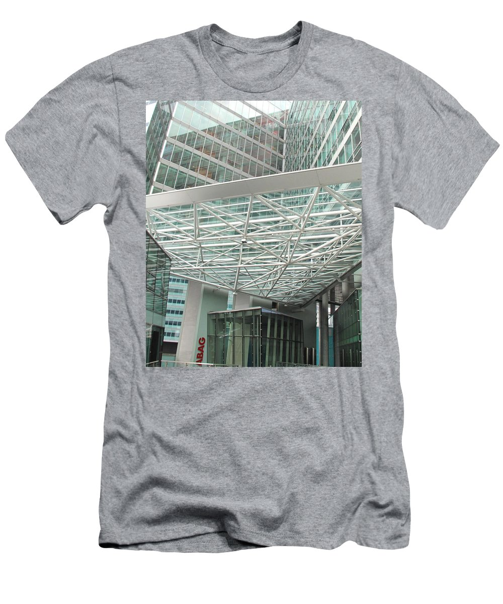 Vienna Men's T-Shirt (Athletic Fit) featuring the photograph Modern Vienna by Ian MacDonald