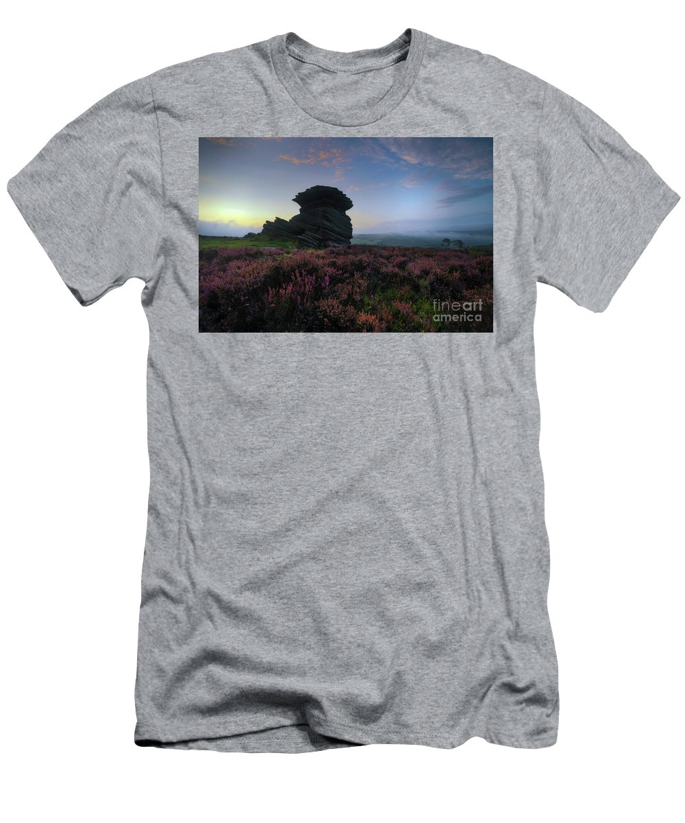 Yhun Suarez Men's T-Shirt (Athletic Fit) featuring the photograph Mother Cap 1.0 by Yhun Suarez