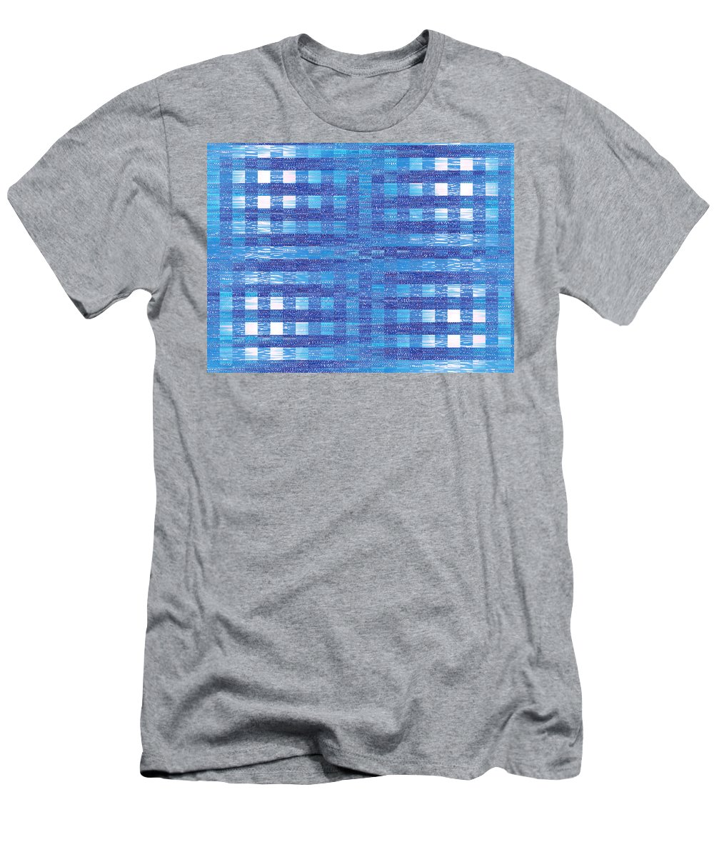 Moveonart! Global Gathering. -- Jacob Kane -- Omnetra Men's T-Shirt (Athletic Fit) featuring the digital art Moveonart Onlyhereforalittlewhile by Jacob Kanduch