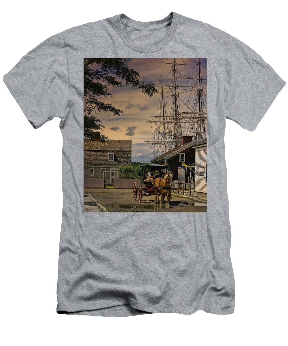 Mystic Men's T-Shirt (Athletic Fit) featuring the photograph Mystic Evening by Chris Lord