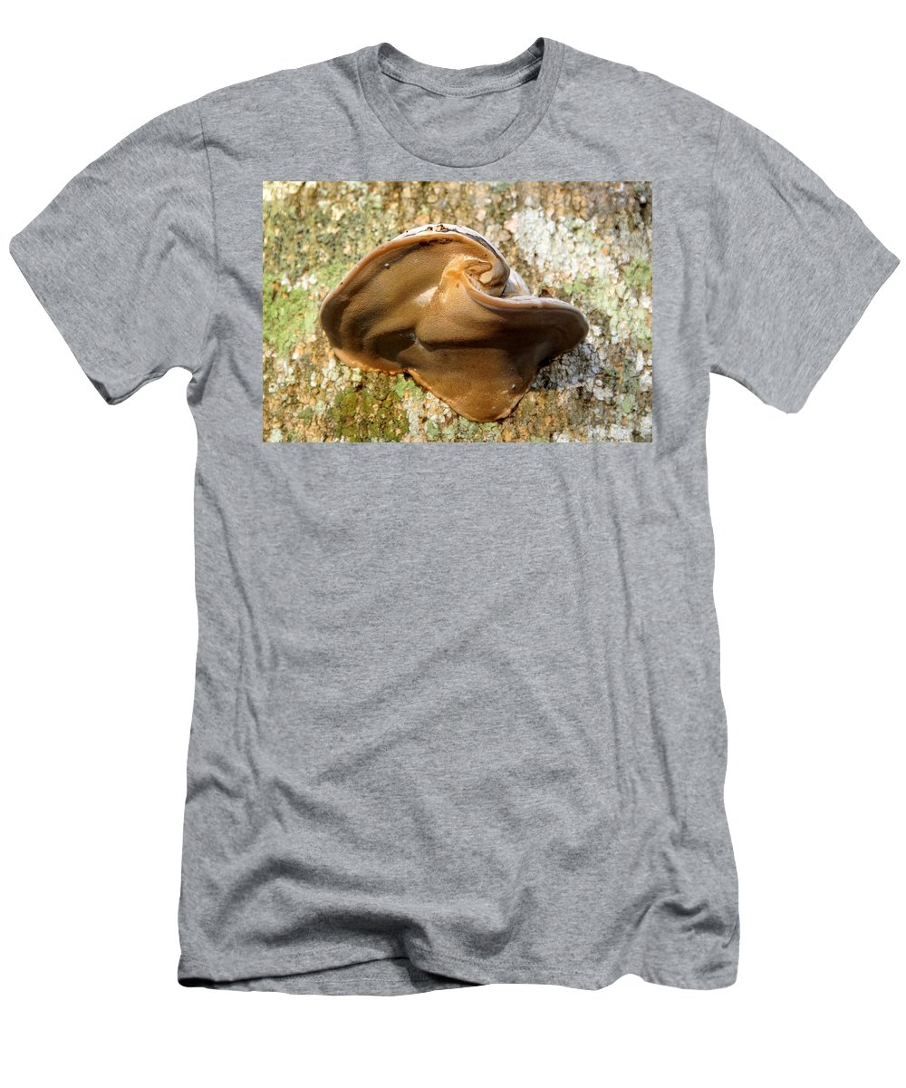 Fungus Men's T-Shirt (Athletic Fit) featuring the photograph Natural Art by David Lee Thompson