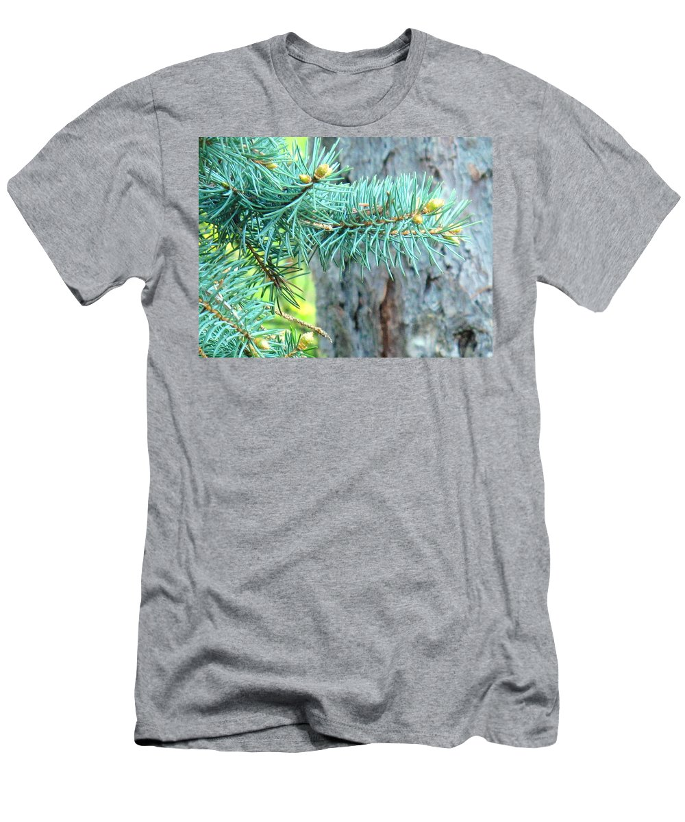 Pine Men's T-Shirt (Athletic Fit) featuring the photograph Needles by Ian MacDonald