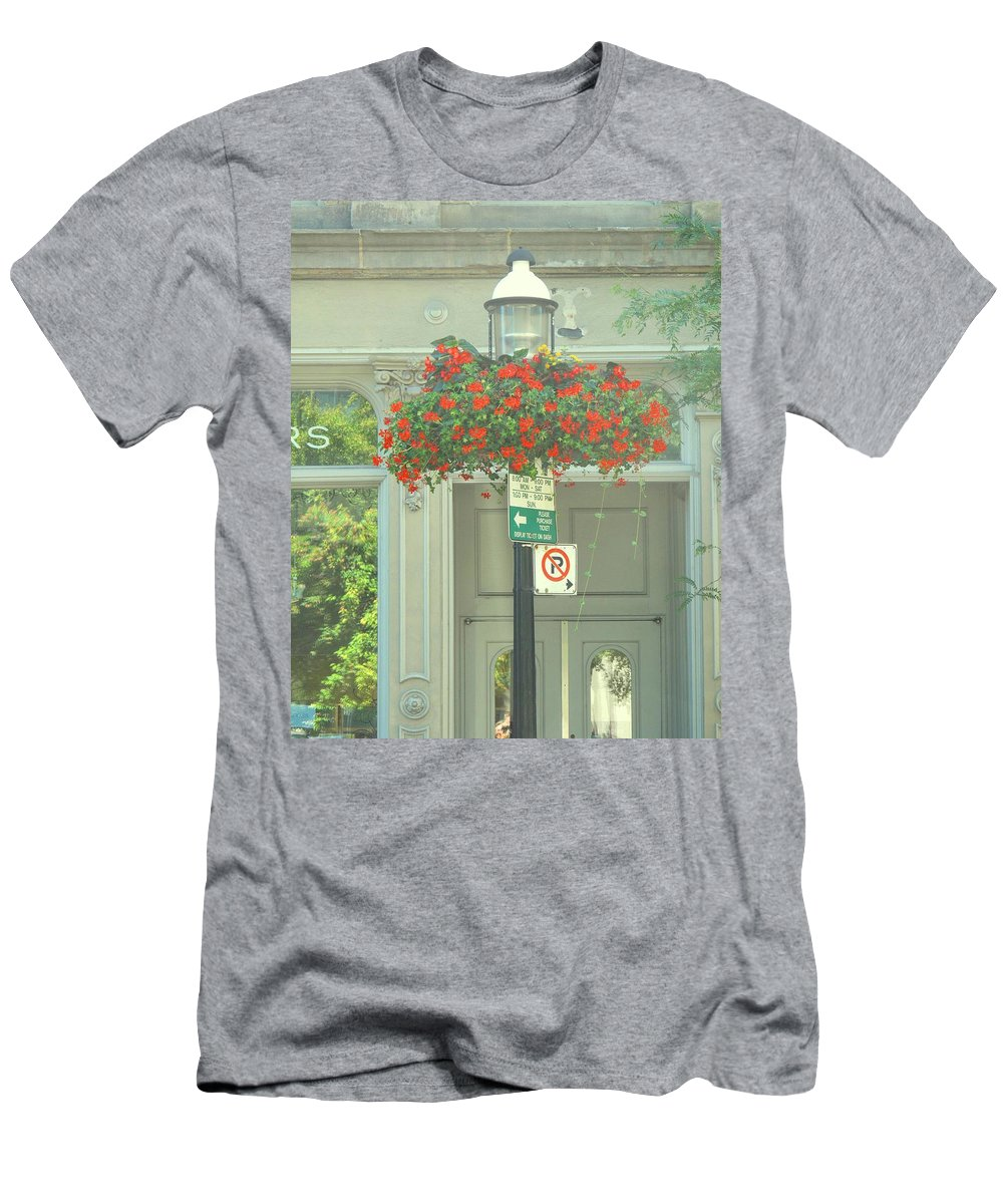 Men's T-Shirt (Athletic Fit) featuring the photograph No Parking by Ian MacDonald