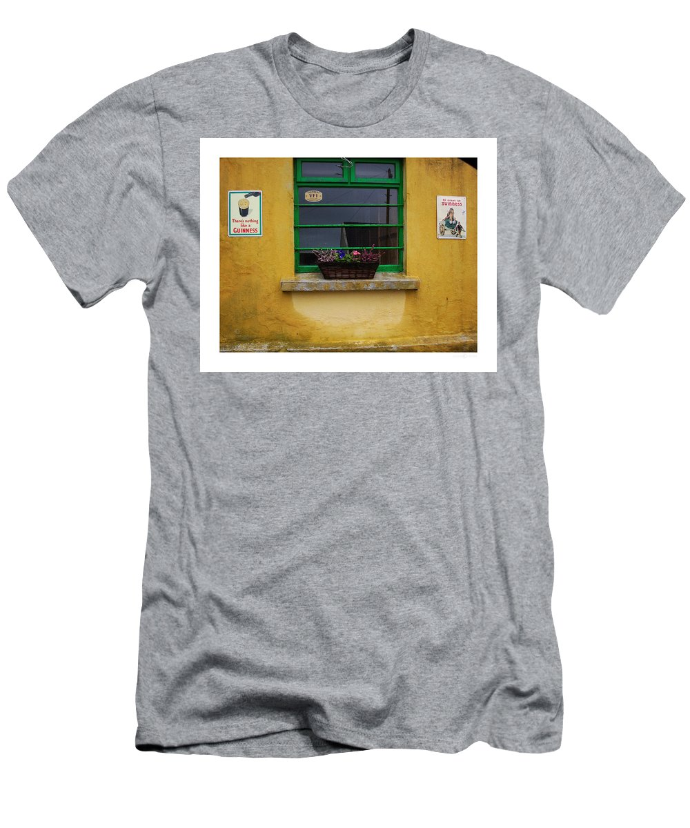 Ireland Men's T-Shirt (Athletic Fit) featuring the photograph Nothing Like A Guinness by Tim Nyberg