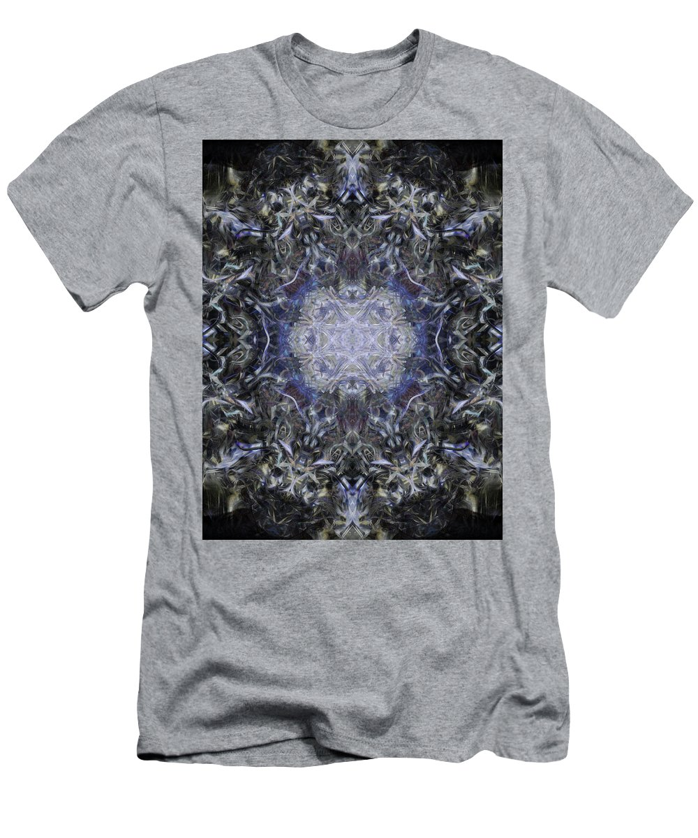 Deep Men's T-Shirt (Athletic Fit) featuring the digital art Oa-4365 by Standa1one