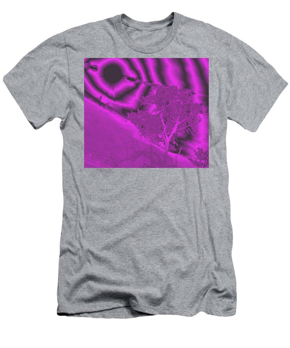 Digital Art Men's T-Shirt (Athletic Fit) featuring the photograph Oak Creek by Jeff Swan