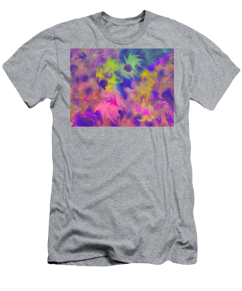 Abstract T-Shirt featuring the digital art October by Ian MacDonald