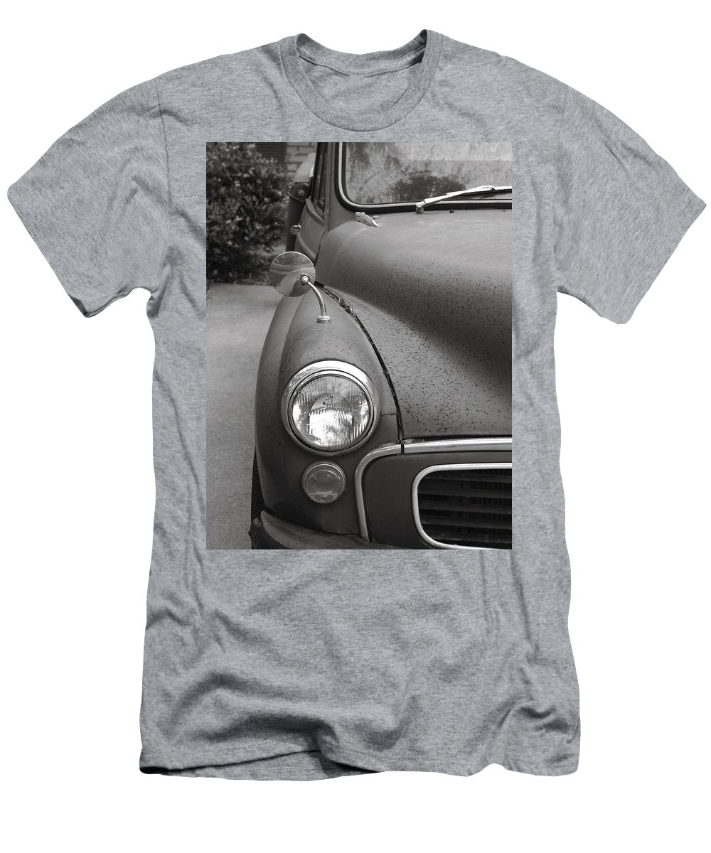 Old Men's T-Shirt (Athletic Fit) featuring the photograph Old English Car by Marilyn Hunt