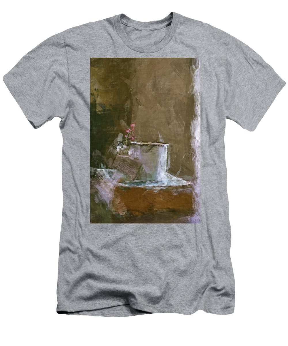 Book Men's T-Shirt (Athletic Fit) featuring the digital art Old Stories Await by Tanya Gordeeva