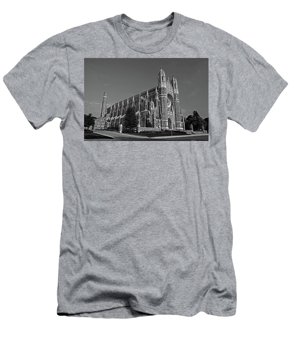 Old West End Men's T-Shirt (Athletic Fit) featuring the photograph Old West End Our Lady Queen Of The Most Holy Rosary Cathedral II by Michiale Schneider