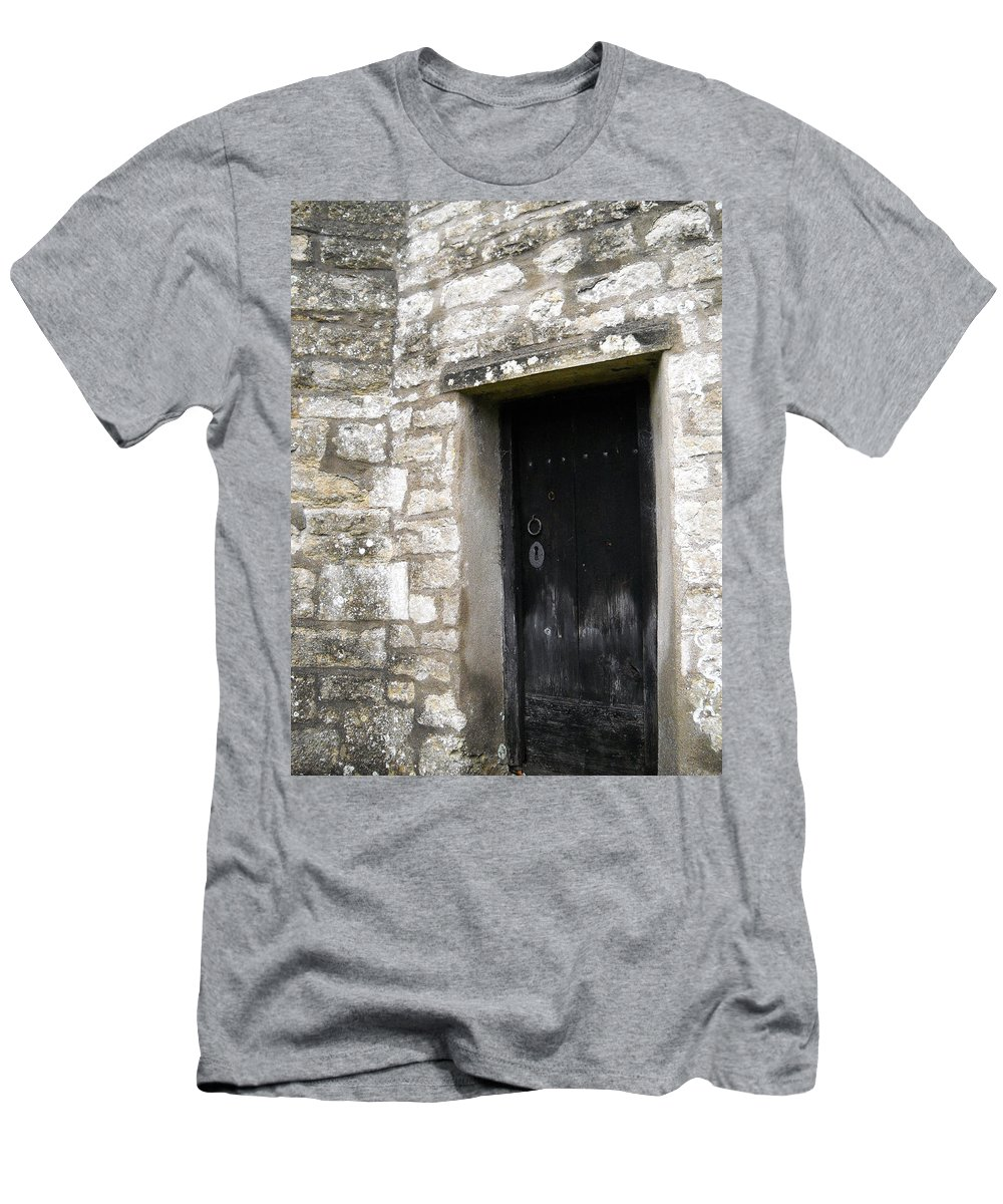 United Kingdom Men's T-Shirt (Athletic Fit) featuring the photograph Open Me by Julia Raddatz