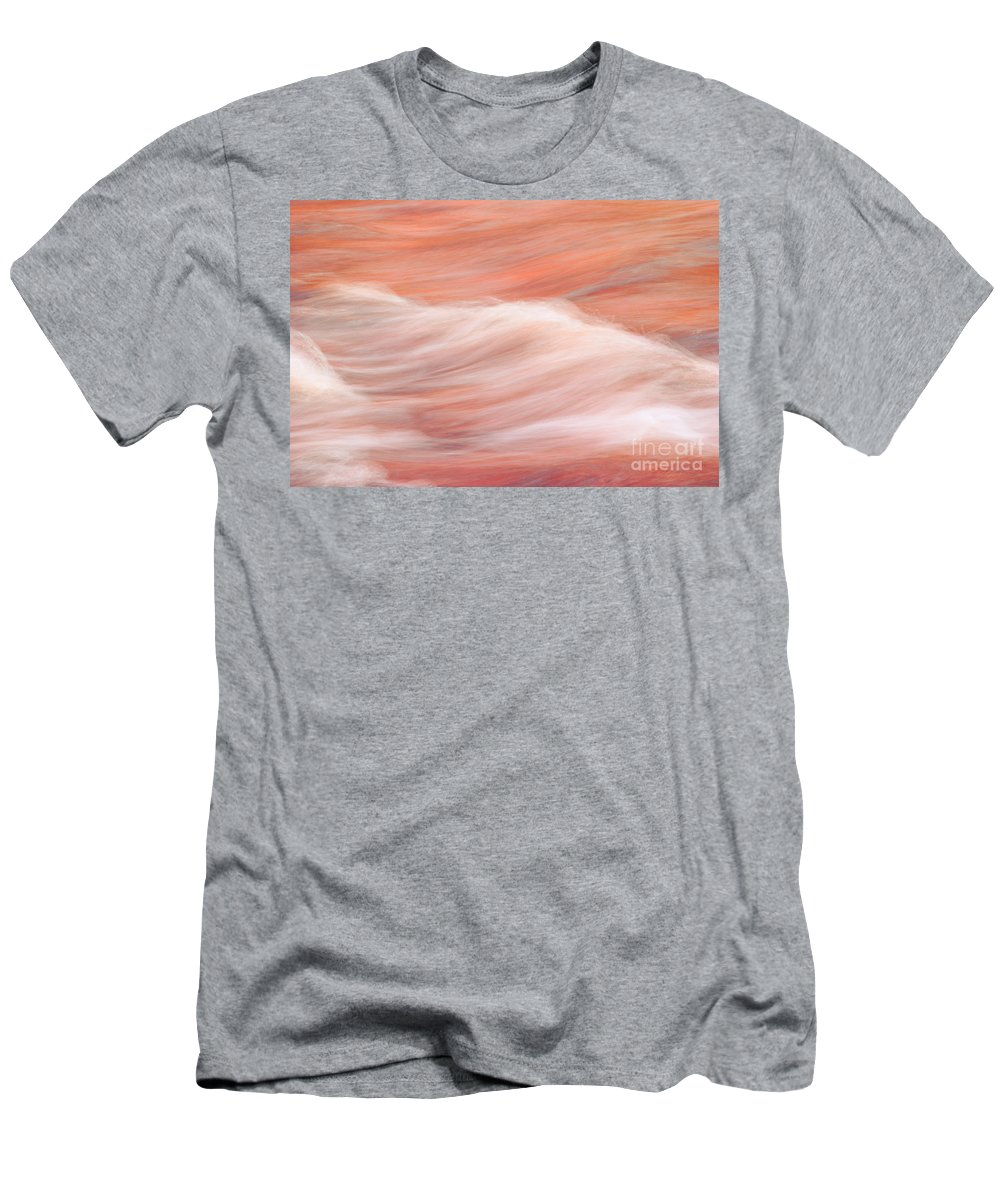 Water Abstract Men's T-Shirt (Athletic Fit) featuring the photograph Osomone by Aimelle