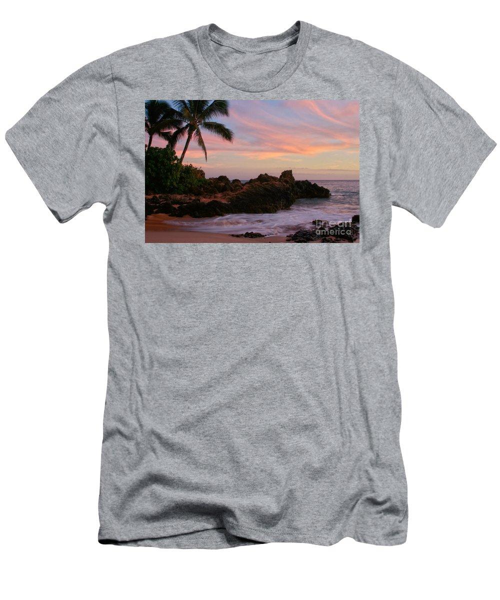 Aloha Men's T-Shirt (Athletic Fit) featuring the photograph Paa Ka Waha O Paako by Sharon Mau