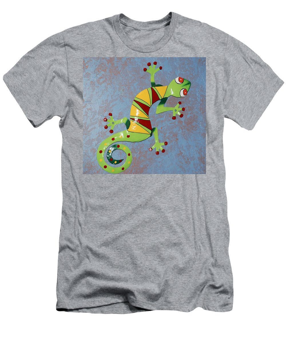 Southwestern Art Men's T-Shirt (Athletic Fit) featuring the photograph Painted Liz by Rob Hans