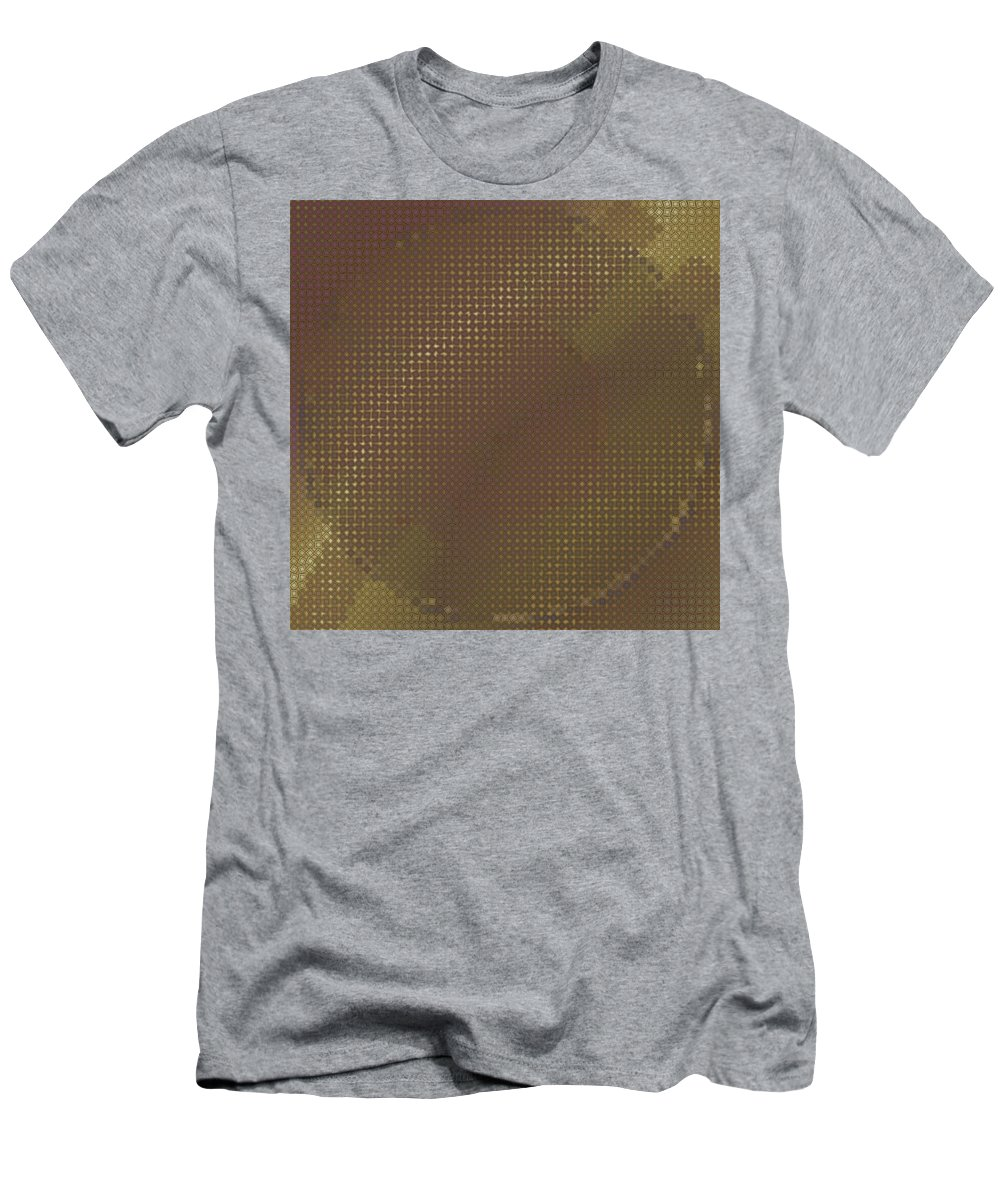 Pattern 68 Men's T-Shirt (Athletic Fit) featuring the digital art Pattern 68 by Marko Sabotin