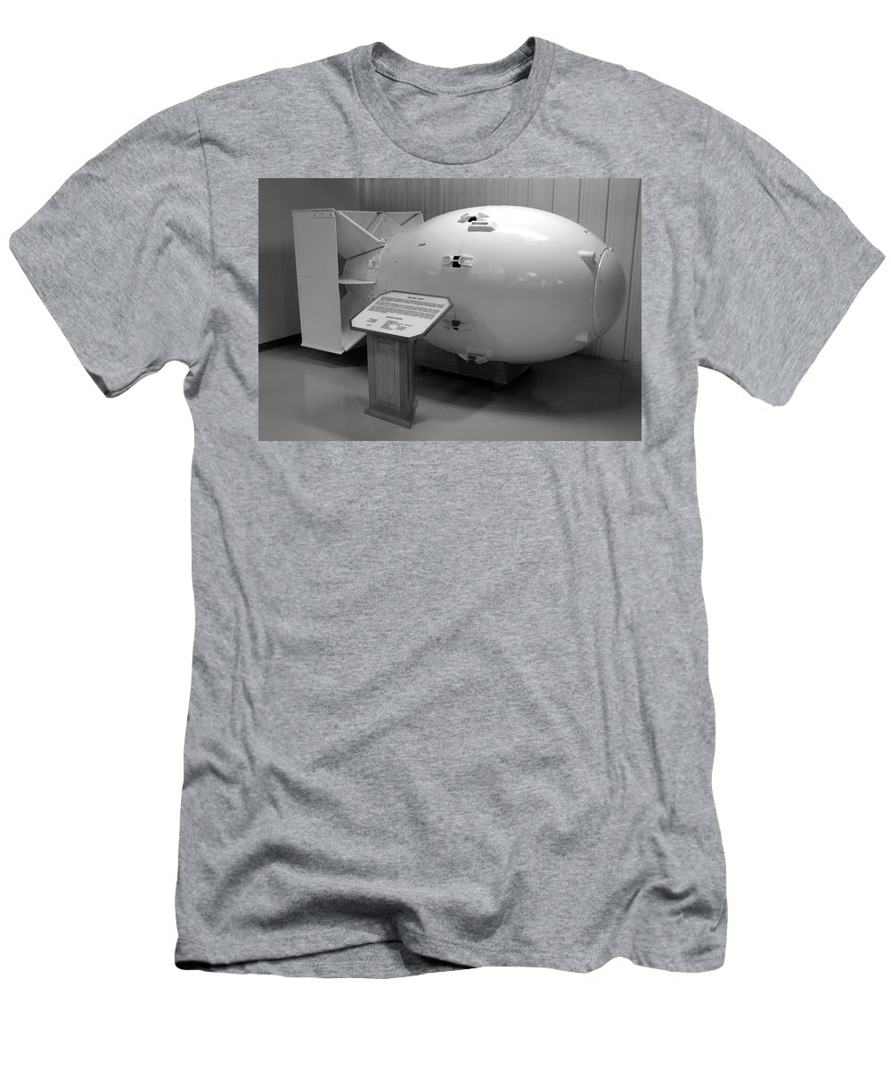 Fine Art Photography Men's T-Shirt (Athletic Fit) featuring the photograph Peace Through Strength by David Lee Thompson