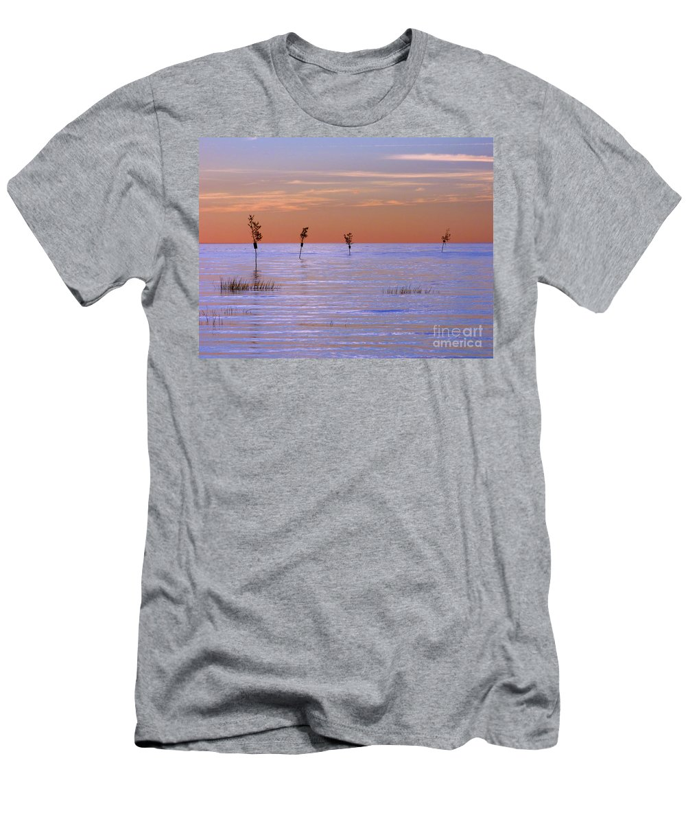 Cape Cod Men's T-Shirt (Athletic Fit) featuring the photograph Peaceful View by Sharon Eng