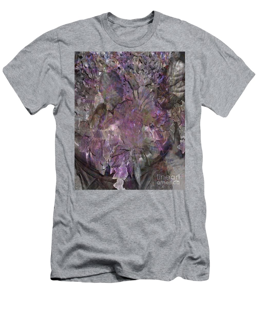 Petal To The Metal Men's T-Shirt (Athletic Fit) featuring the digital art Petal To The Metal by John Beck