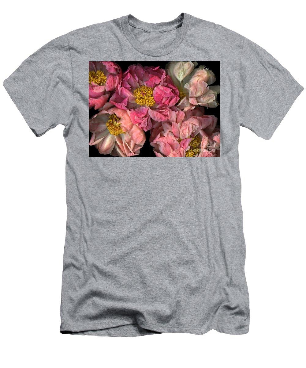 Cslanec Men's T-Shirt (Athletic Fit) featuring the photograph Petticoats by Christian Slanec