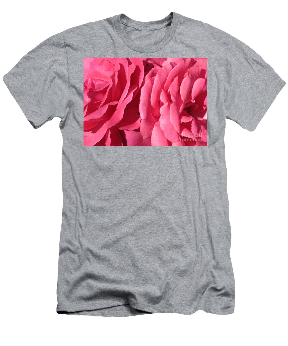 Pink Men's T-Shirt (Athletic Fit) featuring the photograph Pink Petals by Carol Groenen