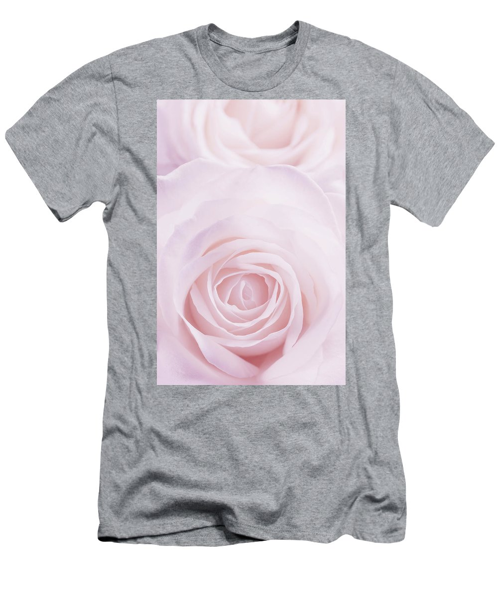 Pink Men's T-Shirt (Athletic Fit) featuring the photograph Pink Rose by Jaroslav Frank