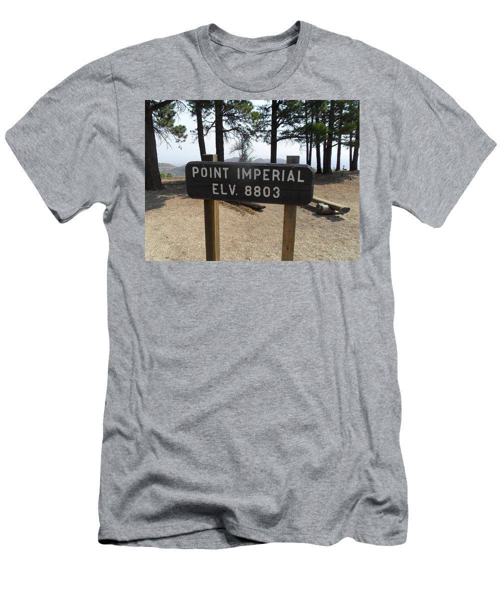 Photography Men's T-Shirt (Athletic Fit) featuring the photograph Point Imperial by Jocelyn Eastman