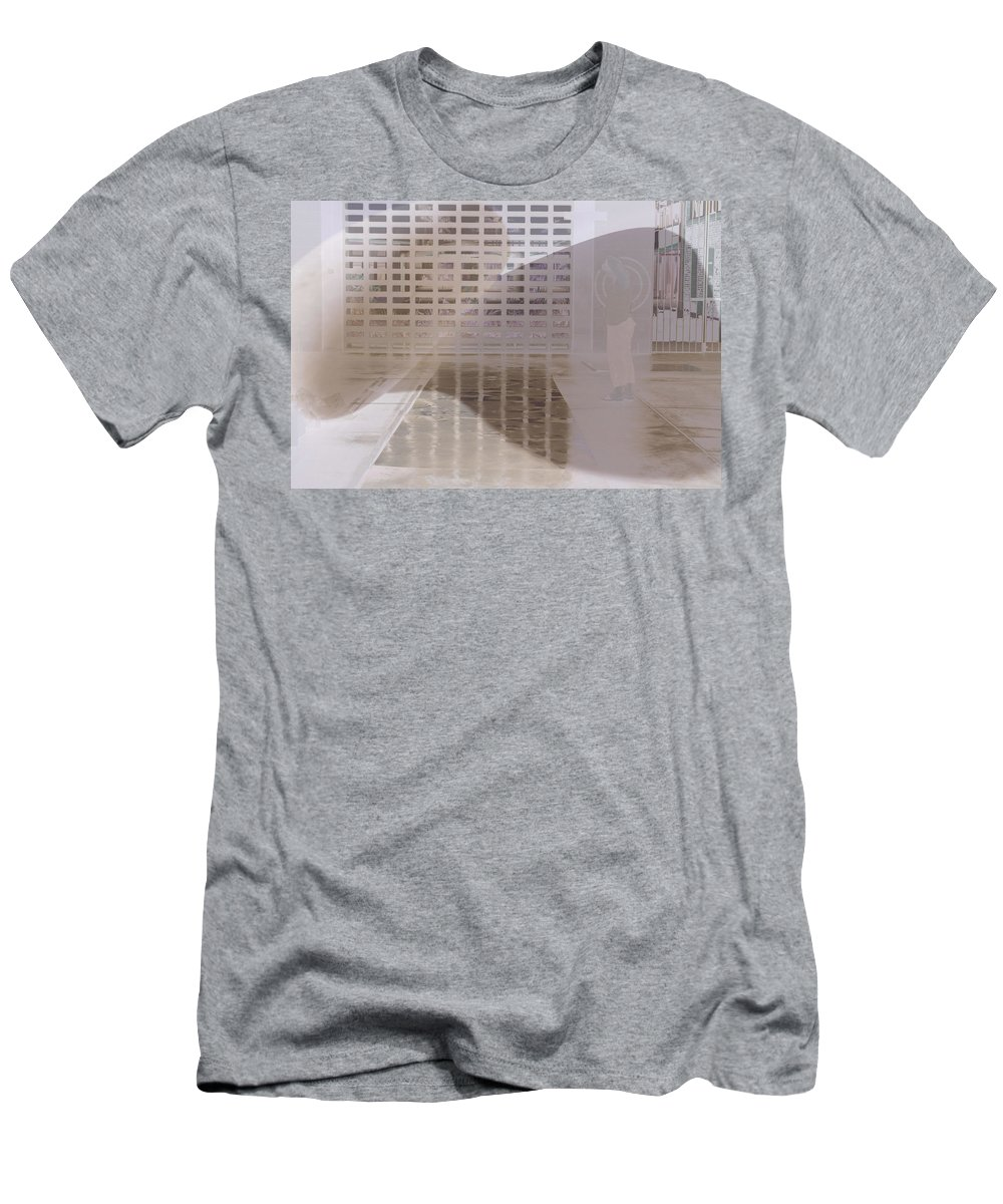 Pondering Men's T-Shirt (Athletic Fit) featuring the photograph Pondering by Kerryn Madsen-Pietsch