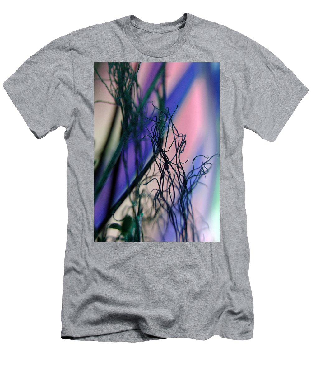 Flowers Men's T-Shirt (Athletic Fit) featuring the photograph Possibilities... by Arthur Miller