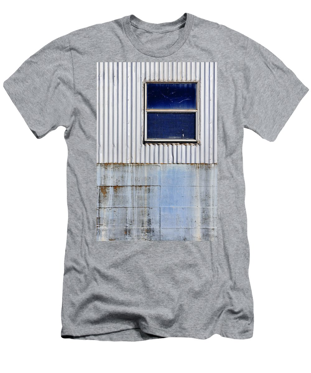 Skip Hunt Men's T-Shirt (Athletic Fit) featuring the photograph Powder Blu by Skip Hunt