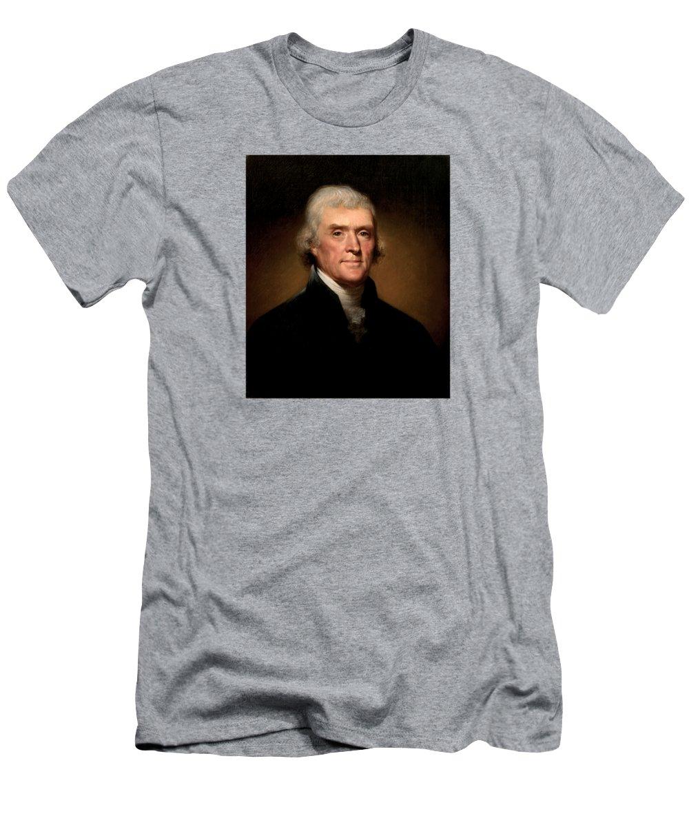 Thomas Jefferson Slim Fit T-Shirts