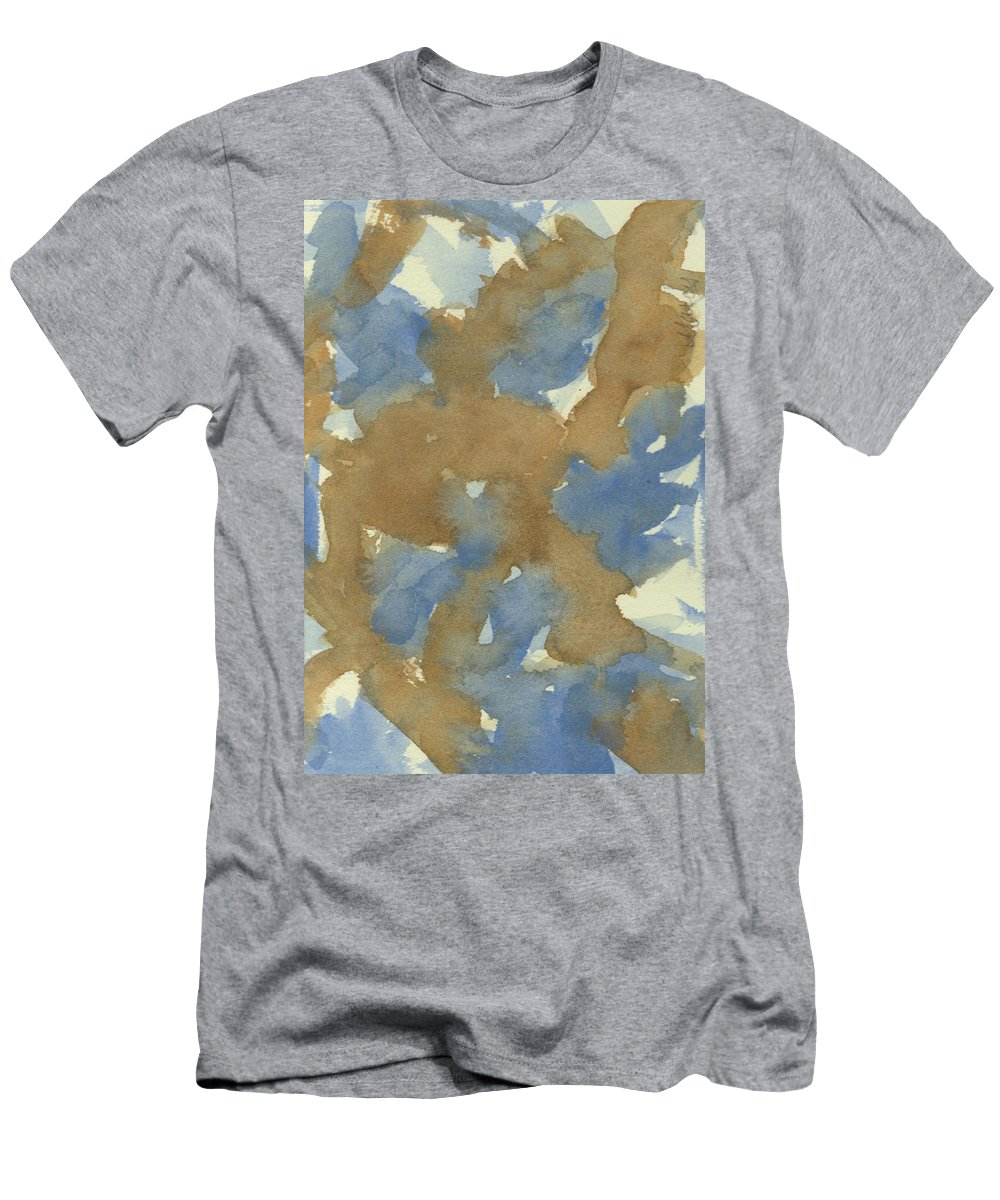 Watercolor Men's T-Shirt (Athletic Fit) featuring the painting Prime Time by Marcy Brennan