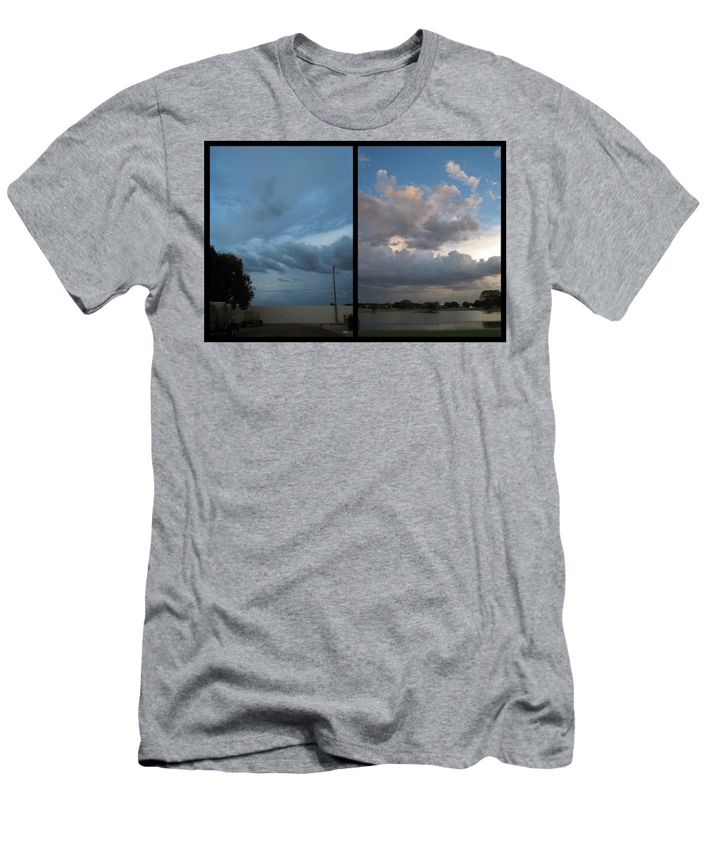 Purgatory Men's T-Shirt (Athletic Fit) featuring the photograph Purgatory by James W Johnson