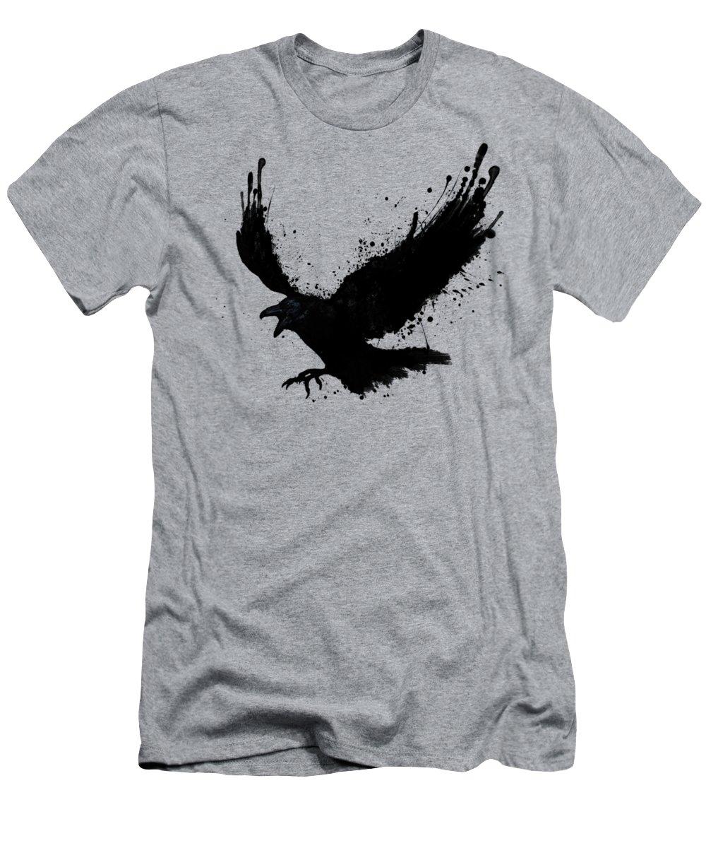 Birds Slim Fit T-Shirts