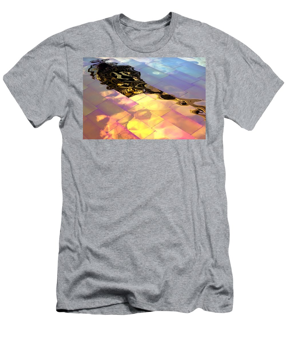 Emp Men's T-Shirt (Athletic Fit) featuring the photograph Reflecting Back by Janet Fikar