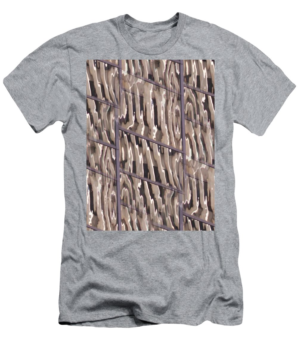 Reflection Men's T-Shirt (Athletic Fit) featuring the digital art Reflection by Tim Allen
